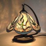 柔らかなイメージのランプ