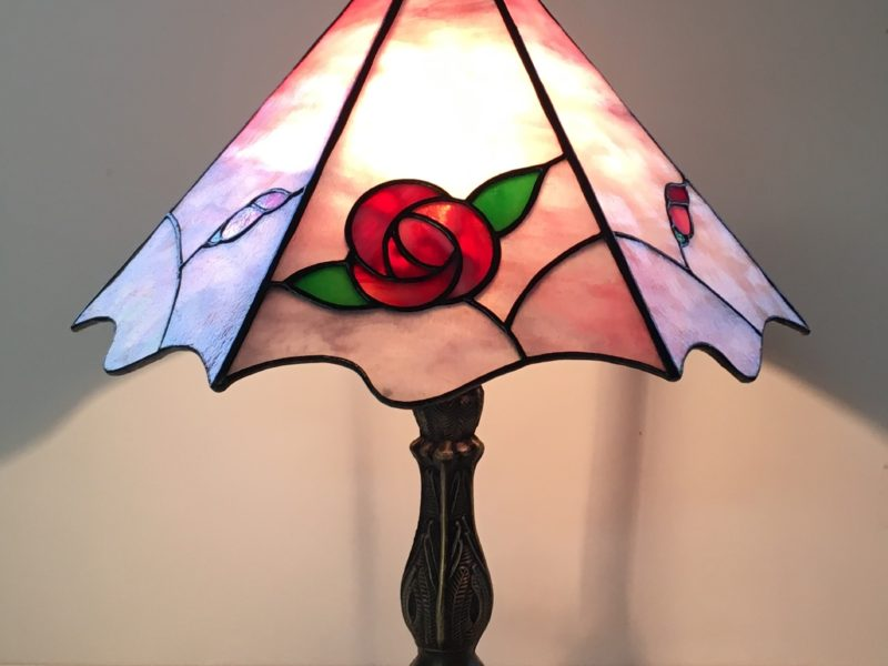 バラのランプ